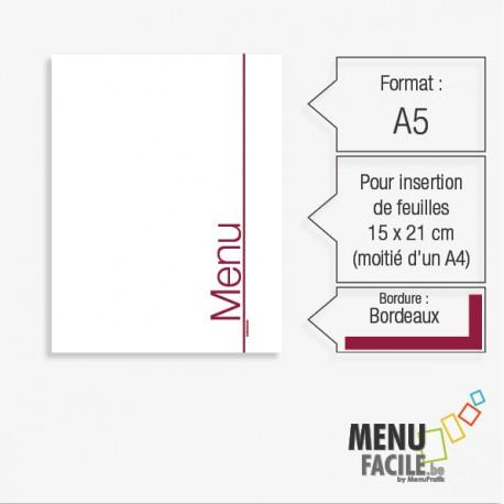 MenuClassic PVC modèle 105