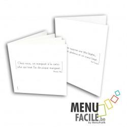 MenuClassic PVC modèle 110