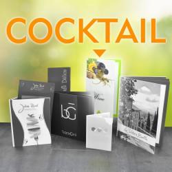 MenuClassic Pvc Visual Cocktail
