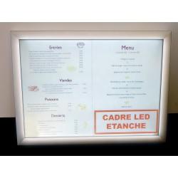 Cadre Menu LED