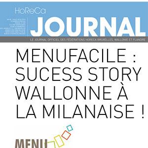 Journal de la Fédération Horeca - Juin 2015