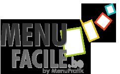 MenuFacile - Carte de restaurant sur mesure 100% personnalisé - Revendeur exclusif MenuPratik pour la Belgique et le Luxembourg