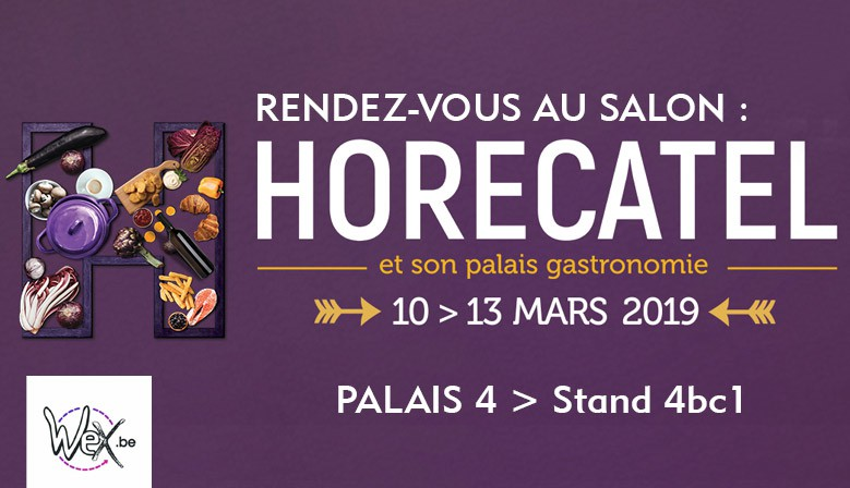 Rendez-vous au salon Horecatel 2019